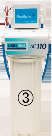 Cintroclear AC110 purificateur d'eau charbon actif comprimé