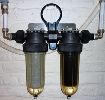 Cintropur wall mounted filter duo