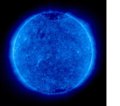 Ultraviolet radiation from the sun