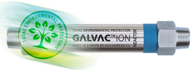 Protection totale de l'environnement dans le traitement anti tartre anticorrosion de l'eau dure par le réacteur Galvac ion 25