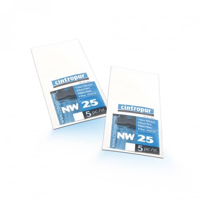 Cintropur Filter Fabric Filtermanschetten for The Device NW25 /& Tio NW32