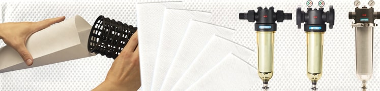 Filter sleeves for water filters Industrial range Cintropur new and old