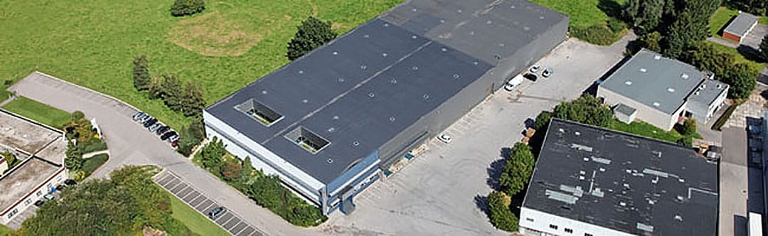 Airwatec depot located in Eupen, Belgium, which stores Cintropur water filters and air filtration equipment. Photo copyright Airwatec.