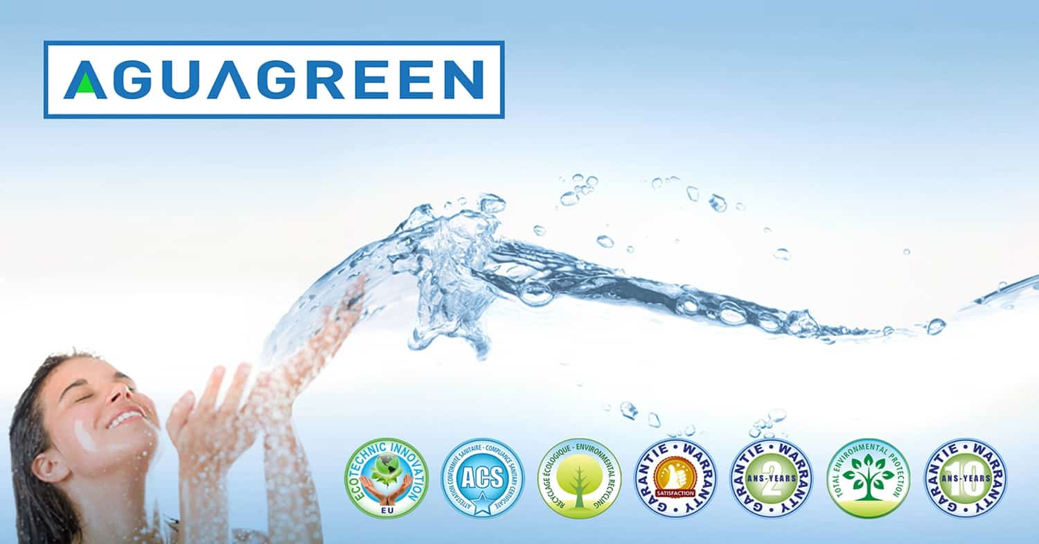Since 2009 Aguagreen is an online store of water softeners, water refiners, filters, ultrafilters, reverse osmosis, activated carbon, spare parts and accessories.