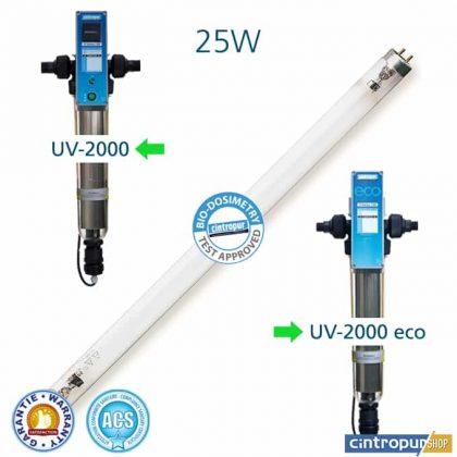 Lampe UV 25w pour modèles UV 2000 et UV 2000 ECO