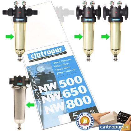 Manchons filtrants gamme Industriel compatibles nouveaux et anciens modèles